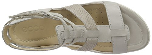 Ecco Ecco Flash, Spartiates femme Beige - Beige (GRAVEL/MOON ROCK59766)