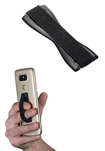 yayago Uni Fingerhalterung, Sling Grip Finger Halter Griff für Handy Smartphone und eBook-Reader Schwarz