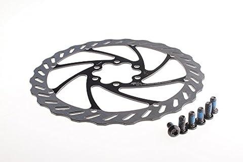 Miles Racing Bike Brake Disk–Stainless Steel 2-tone 203mm