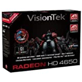VISIONTEK Radeon HD 4650 1GB pci-e 2.0 vga dvi hdv video card 900252