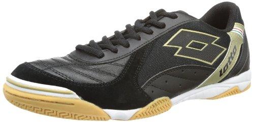lotto-sport-mens-futsal-pro-vi-id-football-shoes-black-schwarz-black-star-gold-size-41