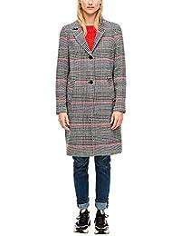 s.Oliver RED Label Damen Mantel mit Glencheck-Muster