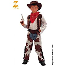 Amazon.es  disfraz vaquero niño - 3-4 años 2250d0bf39a