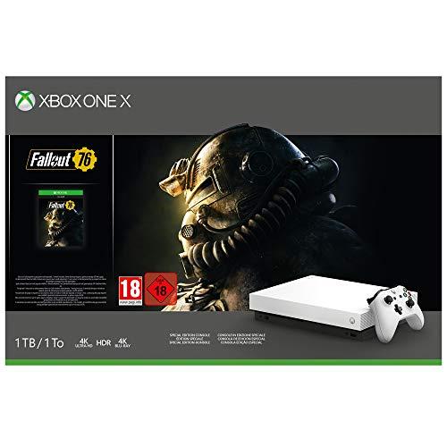 Microsoft Xbox One X - Consola 1 TB, Color Blanco...