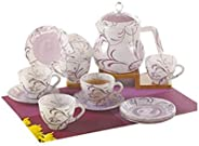 Flamingo 14 Pcs Glass Ware Tea Set (FL8426GTS)