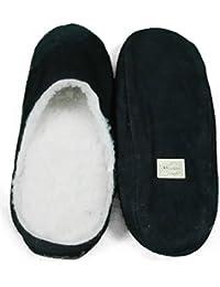 BOOM IT - Zapatillas de estar por casa para hombre Negro negro 52