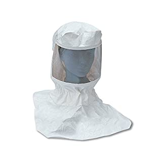 Allegro Industries 9910-10 Replacement Tyvek Supplied Air Respirator Hood with Suspension (Low Pressure only), Standard
