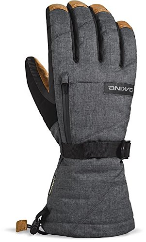 Dakine guantes para hombre guantes de piel Titan, Carbon, L, 01100353