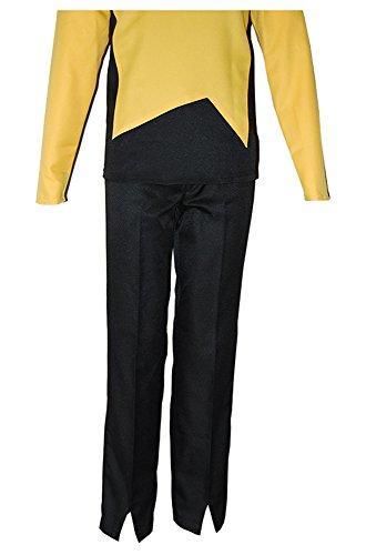 Fuman Star Trek Uniform Hose- passend zu allen Next Generation Polyester Uniformen (Trek Kleid Next Star Generation)