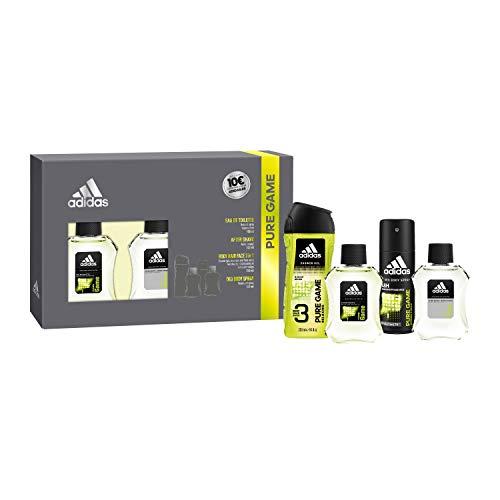 Adidas Set Pure Game Hombre: Eau Toilet 100 ml + After