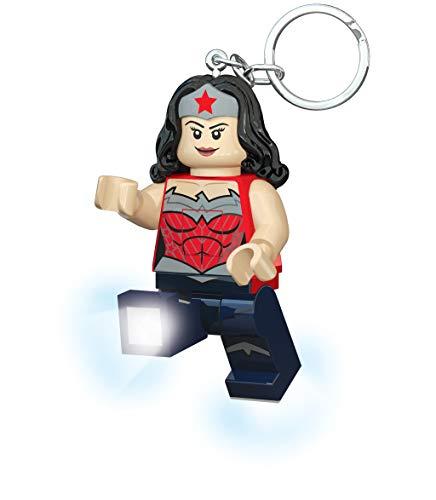 LEGO LGKE70A–Súper Héroes–Llavero LED de la Mujer Maravilla (en Inglés: Wonder Woman)
