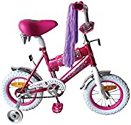 "Basmah Bicycle For Girl, 14"" 25-"