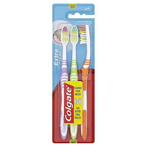 18 cepillos de dientes Colgate Palmolive Extra Clean (6 paquetes de 3) por sólo 1,73€