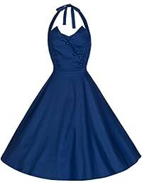 Lindy Bop 'Myrtle' Millésime Cinquantaines Style Robe De Soirée Avec Dos Nu Cou