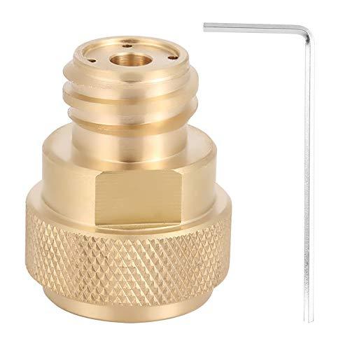 Preisvergleich Produktbild Nikou Umrüstung des Tankbehälters - Messing-CO2-Adapter Ersetzen Sie die Umrüstung des Tankbehälters für Sodastream (Farbe : Golden)