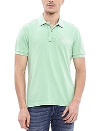 Ed Hardy Men's Printed Polo Neck T-Shirt
