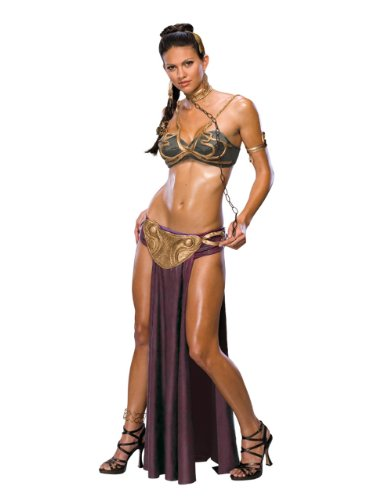 Imagen de star wars princess leia slave outfit adult costume, small, usa 2  6 , bust 33  35