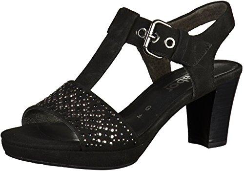 GABOR Comfort sandalo 42.394.17 nero schwarz