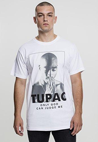 Mister Tee Herren 2pac Prayer T-Shirts white