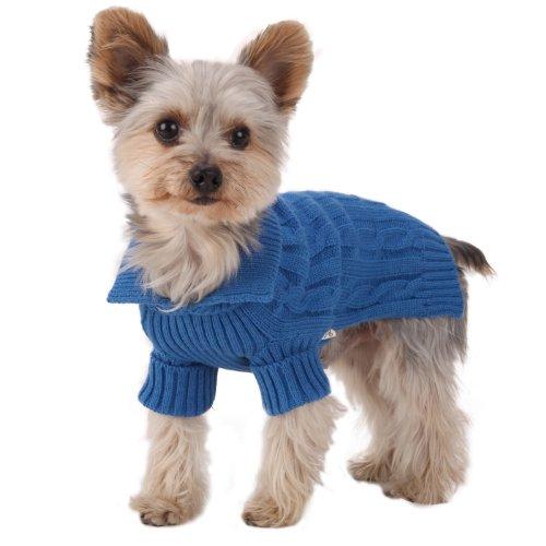 Stinky G Blu Reale Maglione per Cani XS #08