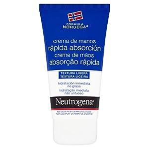 Neutrogena – Crema de manos, absorción rápida, para manos secas y estropeadas, textura ligera, 75 ml
