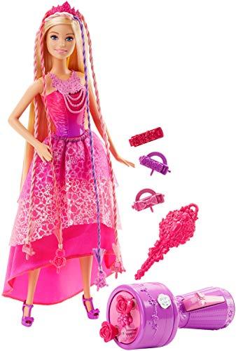 Barbie- Chioma da Favola con Capelli Lunghi e Accessori, Multicolore, DKB62