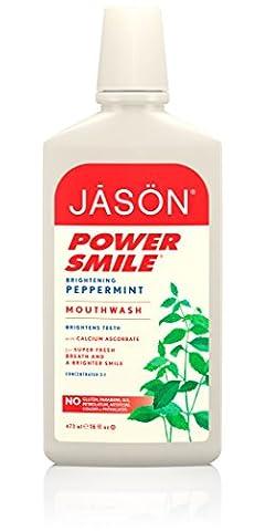 Jason Natural Cosmetics - Powersmile Super Refreshing Mouthwash, 16 fl oz liquid
