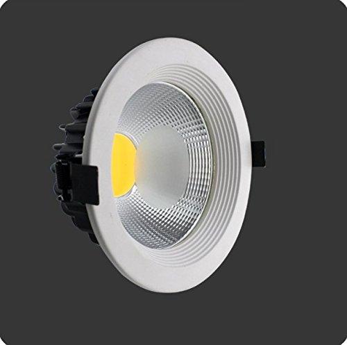 Einbaustrahler LED COB 20Watt Neutralweiss 4500K mit Netzteil