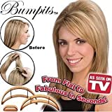 New Big Happie Hair - Hair Volumizing Inserts Bumpits - Blonde 5 Pieces Set & Instructions Included by New Big Happie Hair Bild