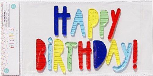 Unbekannt Party Decor Gel klammert Sich an-Happy Birthday-16Stück