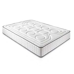 Materassi 90 X 190.Dagostino Home Materasso Viscoelastico Diamante 90 X 190 X 20 Cm