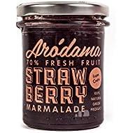 Arodama Premium Strawberry Jam, 220 g, Pack of 2
