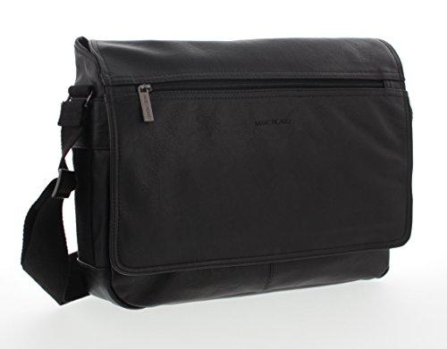 Marc Picard, borsa a tracolla, borsa da laptop (nero)