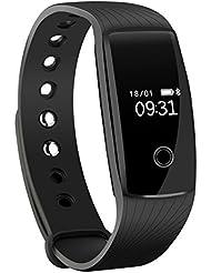 Mpow Cardiofréquencemètre Smart Fitness Bracelet Health Tracker Activité Wristband Podomètre pour Android et iOS Téléphones Intelligents