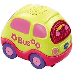 VTech Baby 80-119554-Tut Tut Bolides Bus, Rose