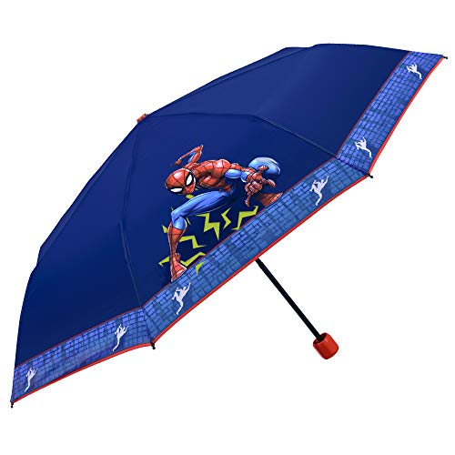 Paraguas Plegable Niño Marvel Spiderman   Paraguas