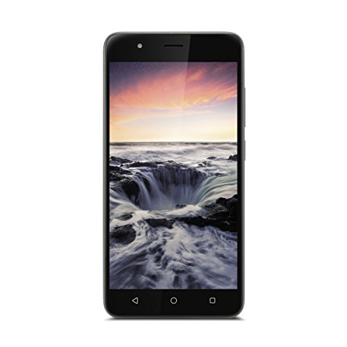 Gigaset GS270 Plus Smartphone/Handy - (13,3 cm (5,2 Zoll) Touch-Display, 32 GB Speicher, Android 7.0) – Mobiltelefon; Grey