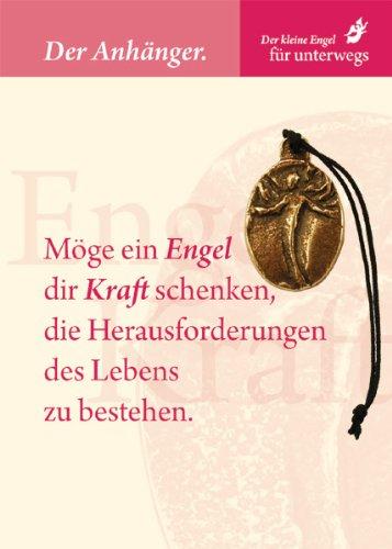 Engel Anhänger »Engel der Kraft«, Möge ein Engel dir Kraft schenken, die Herausforderungen des Lebens zu bestehen., Taschenanhänger -