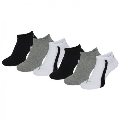 PUMA Unisex Ring Sneakers 201203001 Sportsocken 6er Pack (Puma Ring)