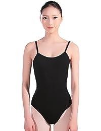 BOZEVON Mujer de Gimnasia Ballet Dance Leotardo Mujer Adulto Disfraz de Manga  Larga para otoño y b54ecaf672e1