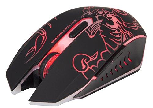 Marvo Scorpion Luminous M316 Gaming Mouse (Black)