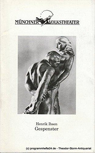 (Programmheft GESPENSTER von Henrik Ibsen Premiere 1. März 2002 Spielzeit 2001 / 2002 Heft 3)