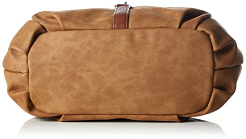 Tom Tailor Acc Damen Josy Shopper, 36x23x12 cm Braun (cognac 22)