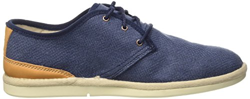 Timberland City Shuffler_City Shuffler Fabric Plai, Oxford homme Bleu - Blau (Navy Mesh&Leather)