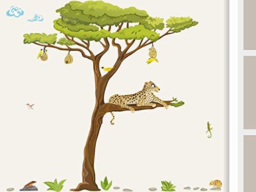 Leopard-eidechse (Wandtattoo