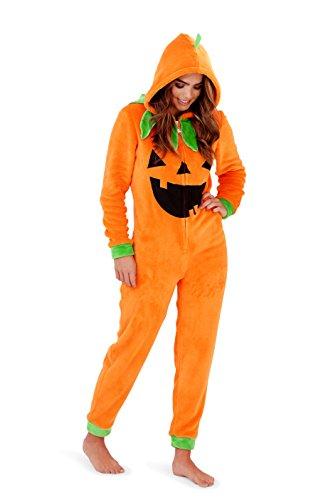 - 417X3 n 2B3OL - Loungeable, Ladies Luxury 3D Novelty Spooky Halloween Fancy Dress Onesie Jumpsuit