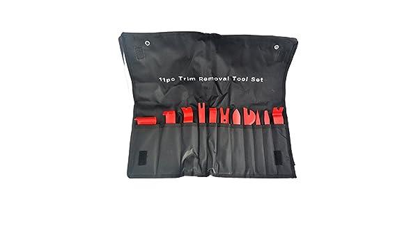 Innenraum Verkleidung Lösehebel Plastikkeil Werkzeug Zierleistenkeil 11-tlg