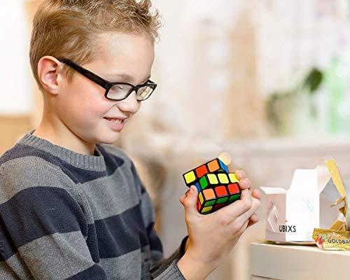 3×3 Zauberwürfel – Original Cubixs Speedcube – Typ Los Angeles – mit optimierten Dreheigenschaften für Speed-Cubing - 6