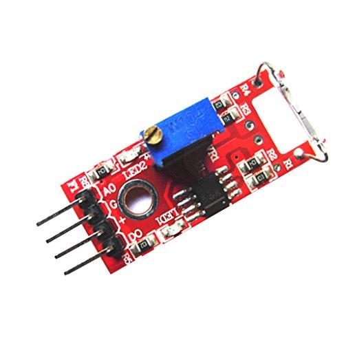 H HILABEE 3.3V-5V Mini Módulo De Sensor De Lá Magnética