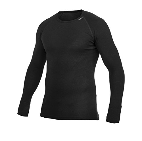 Woolpower Lite Crewneck Long Sleeve Shirt Men - Merino Unterwäsche (Unterwäsche Kälte Extreme)